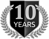 10 Jahre Banner
